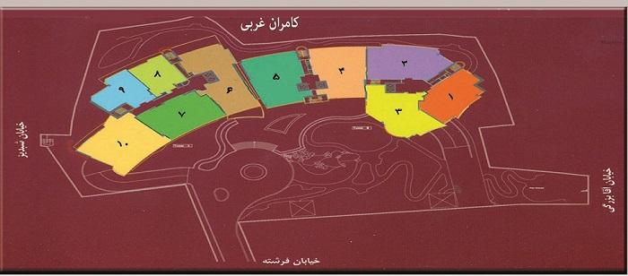 فرشته : فروش ( پیش فروش ) آپارتمان های لوکس و مدرن در خیابان فرشته تهران